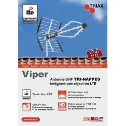 Antenne TNT HD Tri-nappe TRIAX VIPER 445