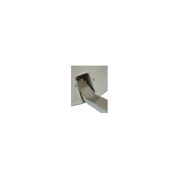 Parabole aluminium 64cm triax tda64 couleur anthracite noir - Couleur noir anthracite ...