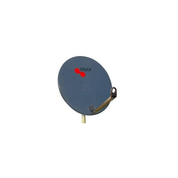 Parabole aluminium 64cm triax tda64 couleur anthracite - Couleur noir anthracite ...